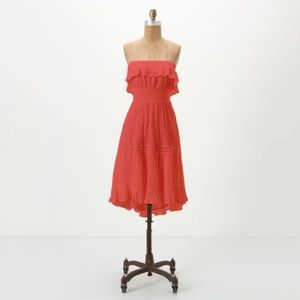 Anthropologie HD In Paris Sunny Repose Dress M
